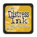 Tim Holtz® Distress Mini Ink Pad from Ranger - Fossilized Amber